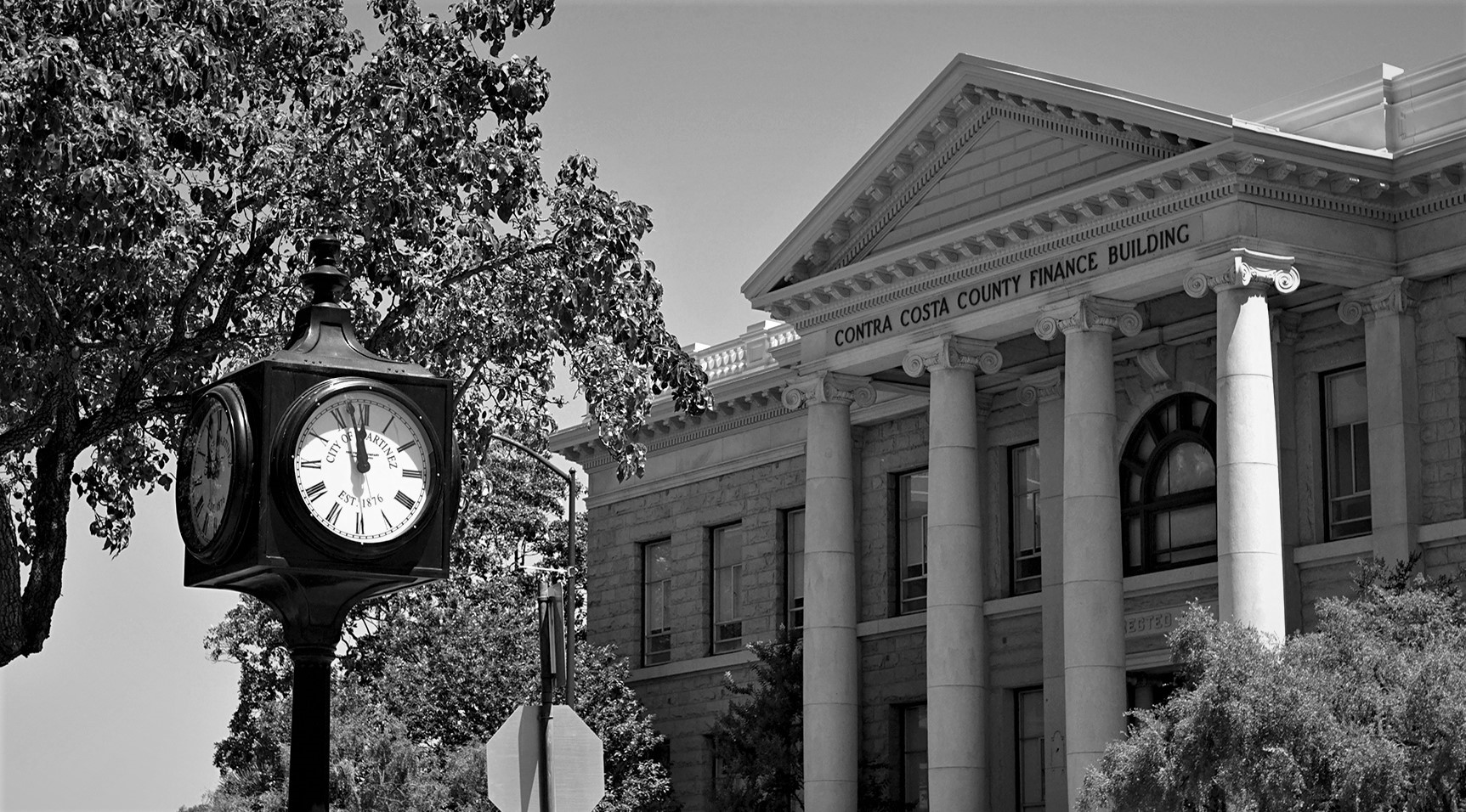 Photo of the Historic County Finance Building in Martinez
